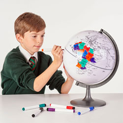 Colour My World Globe - 280mm