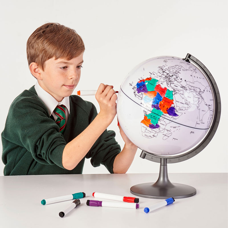 Colour My World Globe - 280mm - CD57009