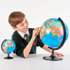 Desktop Political World Globe - 130mm - CD57005