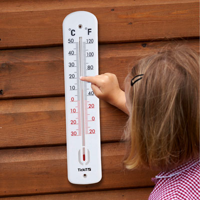 Indoor / Outdoor Classroom Thermometer - CD90093