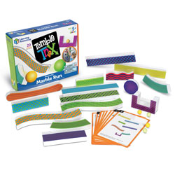 Tumble Trax Magnetic Marble Run - by Learning Resources