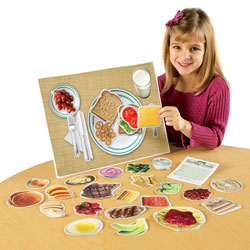 Magnetic Healthy Foods - by Learning Resources [LER0497 , SHFMAG]