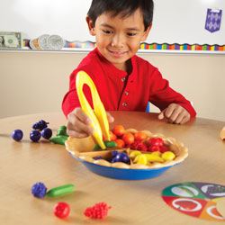 Super Sorting Pie (68 Piece Set) - by Learning Resources [LER6216]