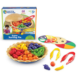 Super Sorting Pie (68 Piece Set) - by Learning Resources