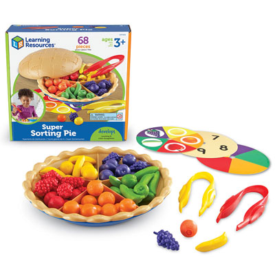 Super Sorting Pie (68 Piece Set) - by Learning Resources - LER6216