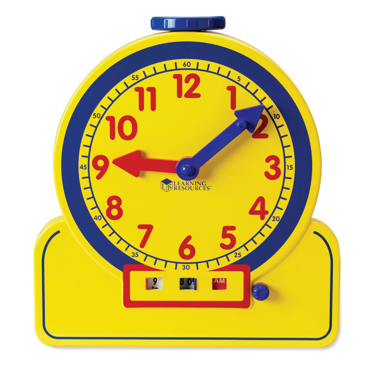 Buy Primary Time Geared Teacher Clock 12 Hour Am Pm