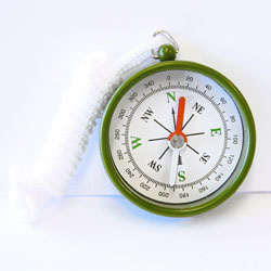 Standard Compass - 45mm with Lanyard