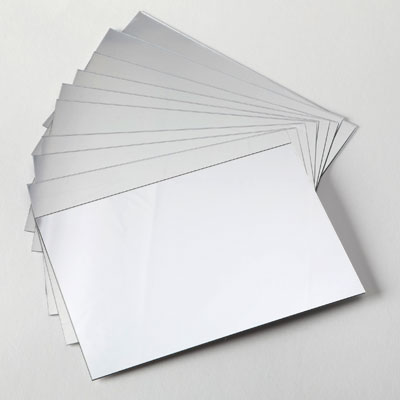 A6 Plastic Mirrors - Pack of 10 - CD48011