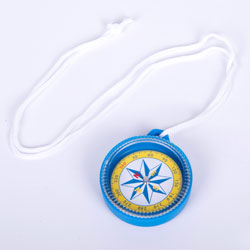 Large Compass - 55mm with Lanyard