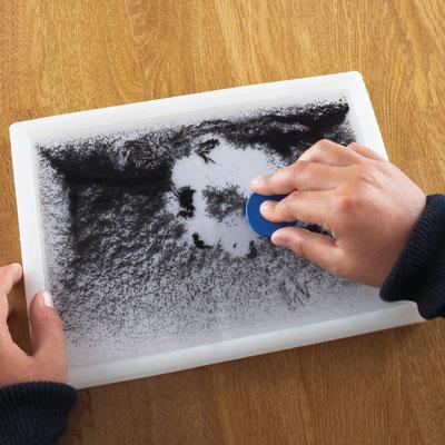 Magnetic Field Pattern Window - White Background - CD50437