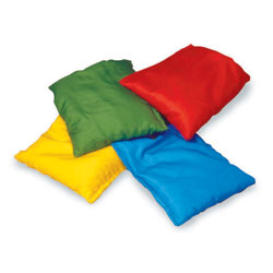 Colour Bean Bags - Set of 4