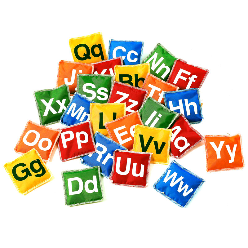 Alphabet Bean Bags - Set of 26 - CD53963