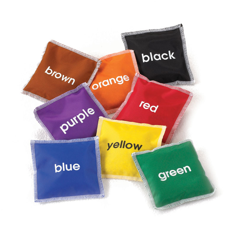 Colour Name Bean Bags - Set of 8 - CD53965