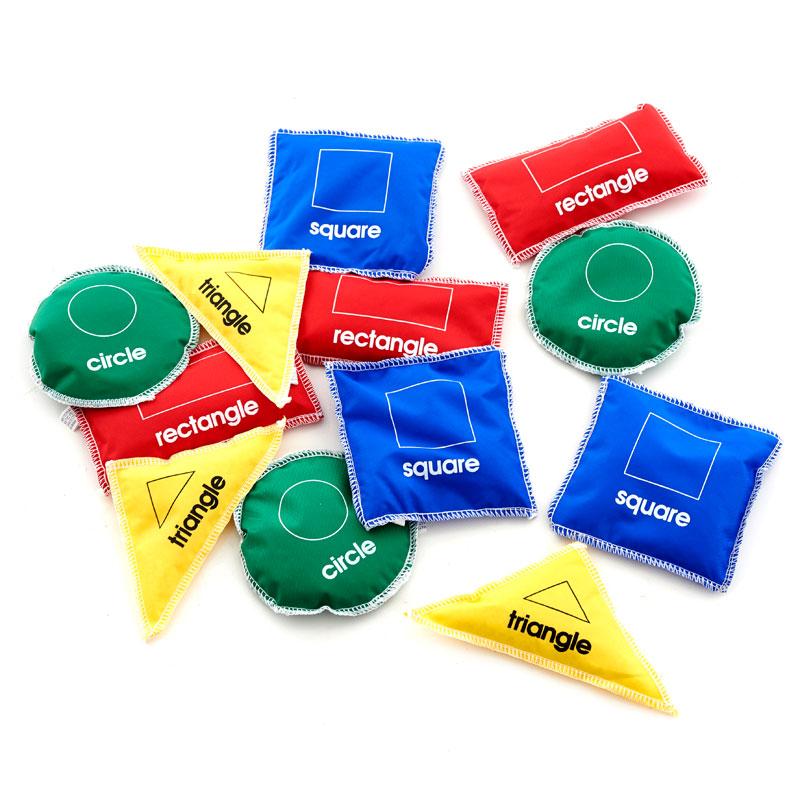 Shape Bean Bags - Set of 12 - CD72237