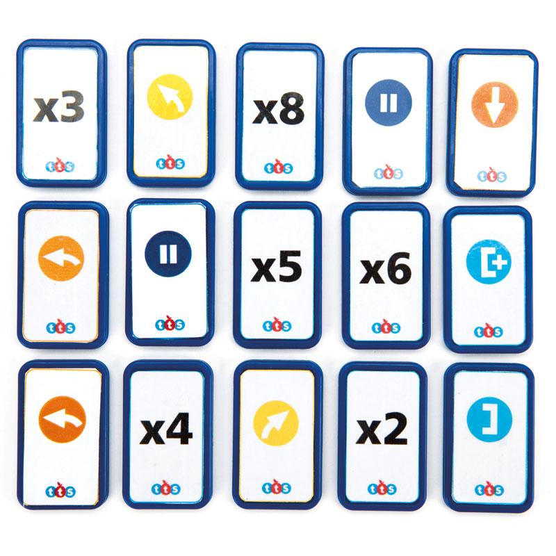TTS Blue-Bot TacTile Reader Tiles - Extension Pack (25 Tiles) - EL00546