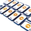 TTS Blue-Bot TacTile Reader Tiles - Standard Pack (25 Tiles) - IT01172