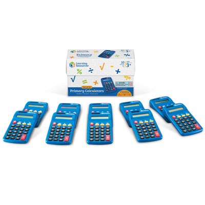 Primary Calculators by Learning Resources - Set of 10 - LER0038