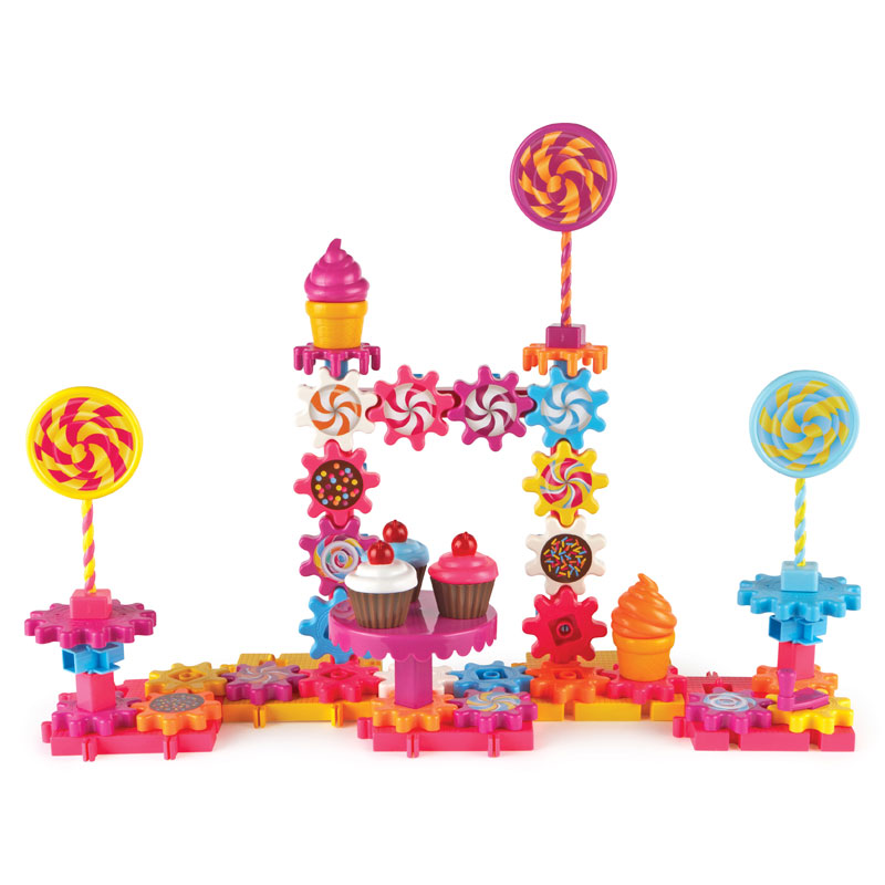 Gears! Gears! Gears! Sweet Shop Building Set - 82 Pieces - by Learning Resources - LER9215
