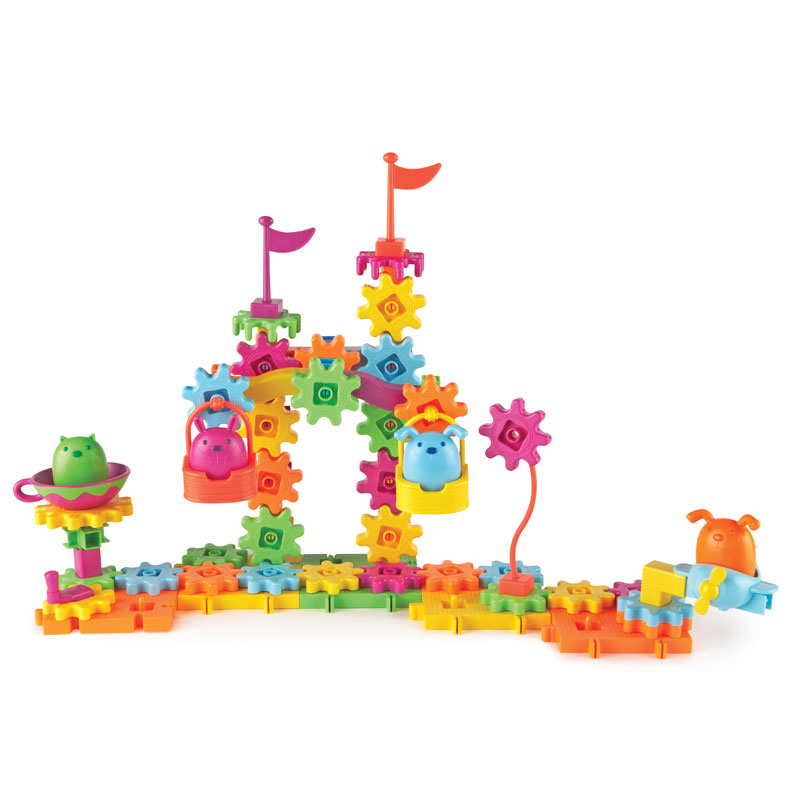 Gears! Gears! Gears! Pet Playground Building Set - 83 Pieces - LER9216