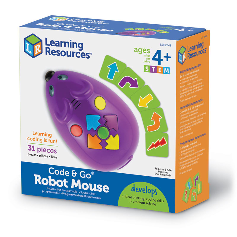 Code & Go Programmable Robot Mouse Set - 31 Pieces - by Learning Resources - LER2841