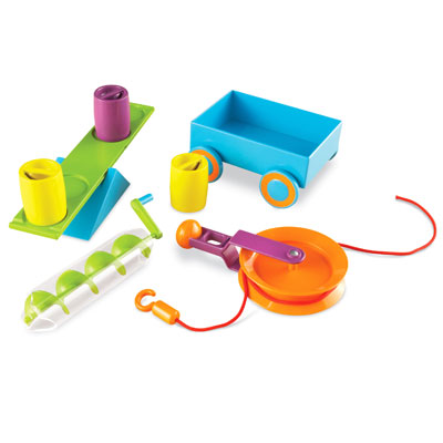 STEM Simple Machines Activity Set - 19 Pieces - by Learning Resources - LER2824