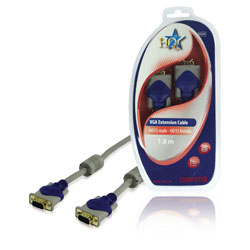 VGA Cable 1.80m (Male to Male)
