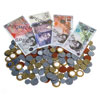 Invicta Assorted Coins and Sterling Notes - Set of 400 Coins & 50 Notes - IP061559