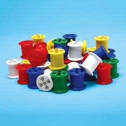 Invicta Cotton Reels - Assorted Colours (Set of 50) [IP012659]