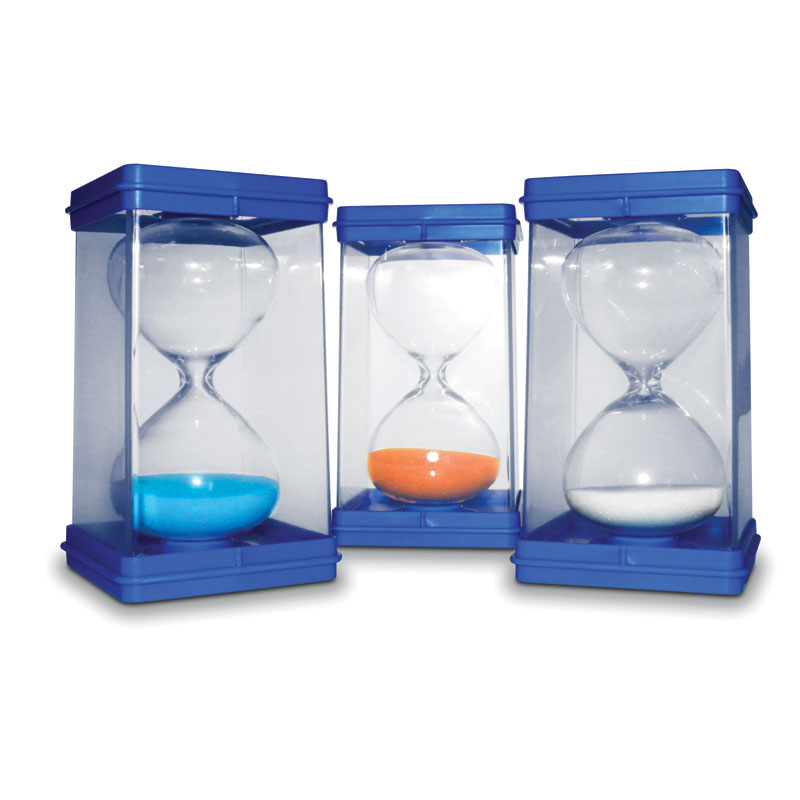 Invicta Large Sand Timers - Set of 3 (30 Seconds, 1 & 5 Minute) - IP081559