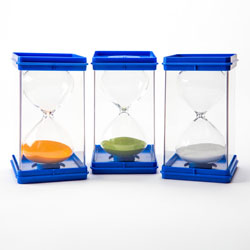 Invicta Large Sand Timers - Set of 3 (1, 3 & 5 Minute)