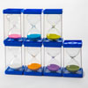 Invicta Large Sand Timers - Set of 7 (30 Seconds, 1, 2, 3, 5, 10 & 15 minute)