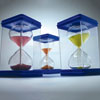 Invicta Large Sand Timers - Set of 7 (30 Seconds, 1, 2, 3, 5, 10 & 15 minute) - IP081959