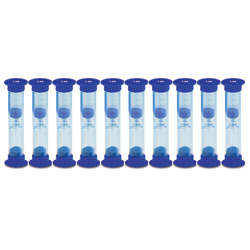 Invicta Mini Sand Timers - 1 Minute - Pack of 10