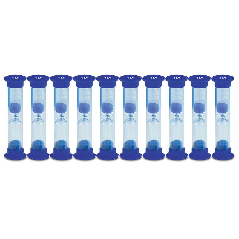 Invicta Mini Sand Timers - 1 Minute - Pack of 10 - IP089459