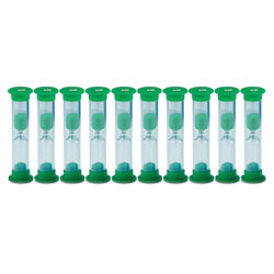 Invicta Mini Sand Timers - 5 Minute - Pack of 10