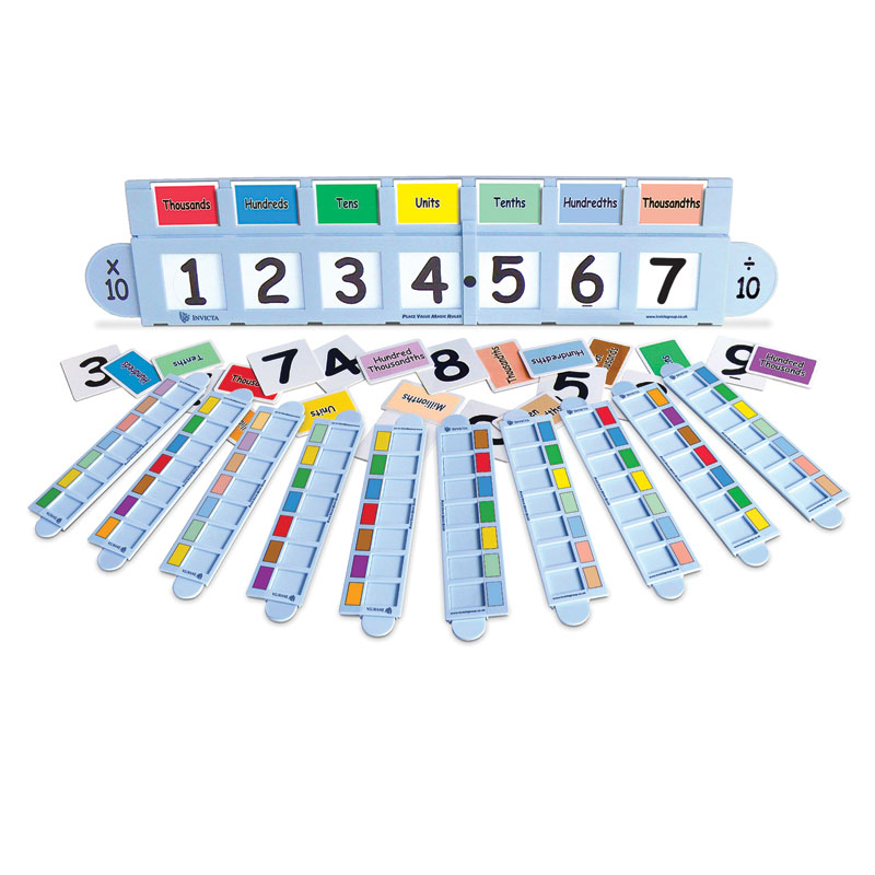 Invicta Place Value Magic Ruler Class Pack - IP124359