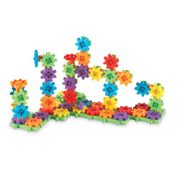 Gears! Gears! Gears! Deluxe Building Set - 100 Pieces - by Learning Resources
