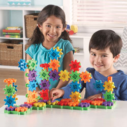 Gears! Gears! Gears! Deluxe Building Set - 100 Pieces - by Learning Resources [LER9162]