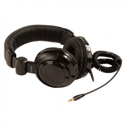 Coomber 41330 Stereo Headphones - with 3.5mm Plug & 6.3mm Adaptor - Pack of 8 [41330/8 , CM41330/8]