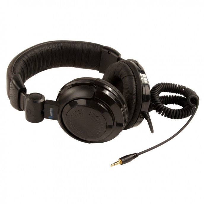 Coomber 41330 Stereo Headphones - with 3.5mm Plug & 6.3mm Adaptor - Pack of 8 - 41330/8