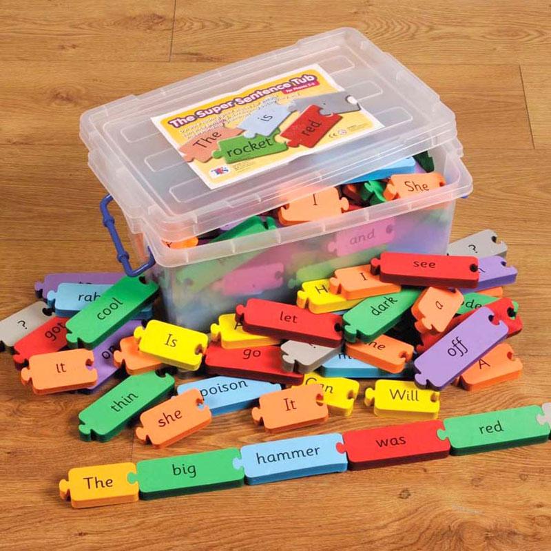 TTS The Super Sentence Tub Phases 2-3 - Set of 115 - LI01708