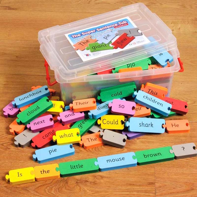 TTS The Super Sentence Tub Phases 4-6 - Set of 115 - LI01709