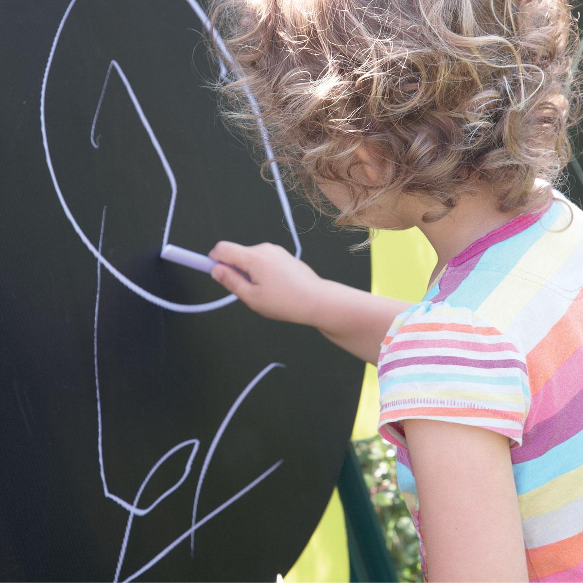 ... TTS Outdoor Mark Making Chalkboard Daisies   Set Of 5 [AR00805] ...