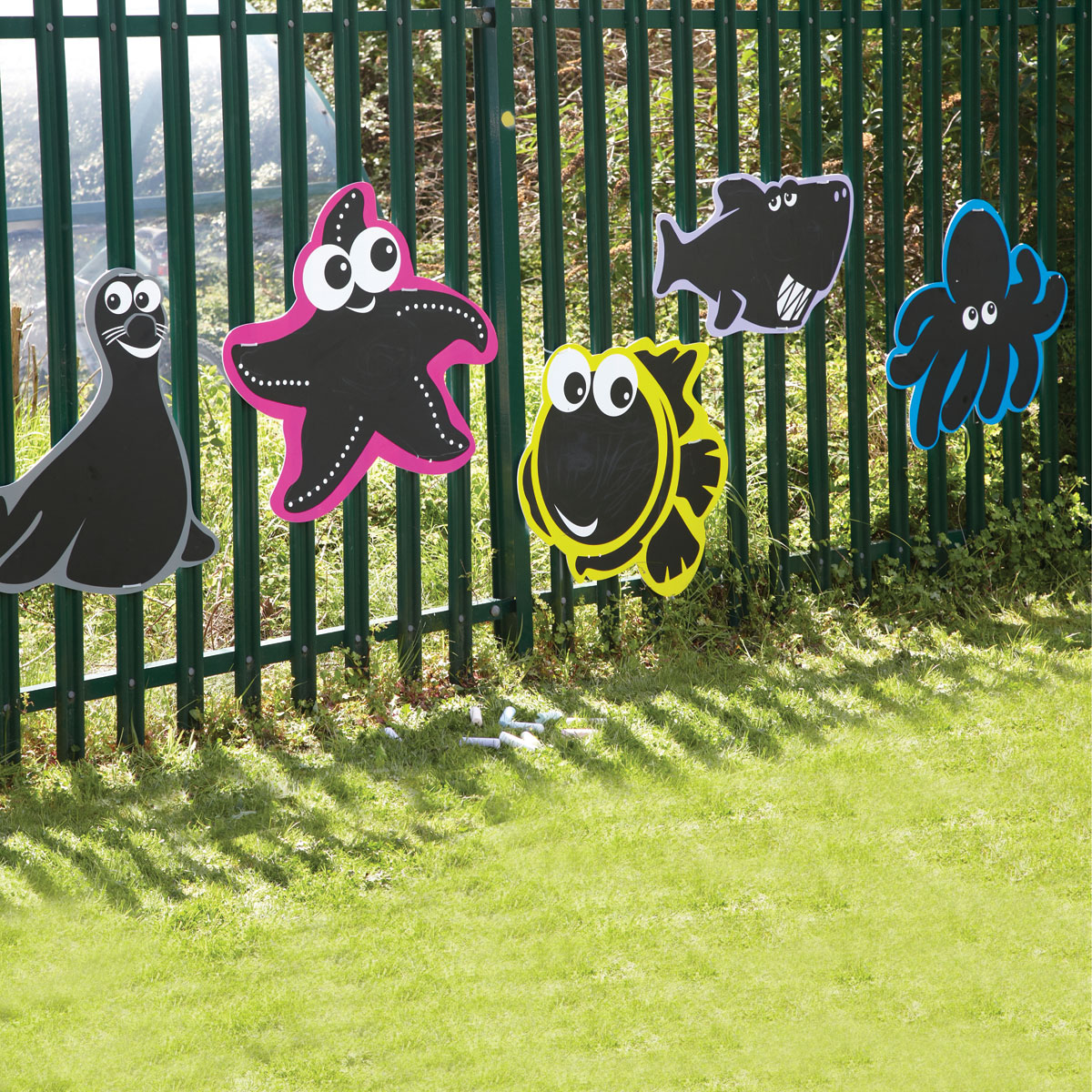 Buy School Tts Outdoor Blackboard Sea Creatures Set Of 5
