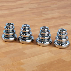TTS Marvellous Metallic Stacking Donuts - Silver Set of 16 [EY06028]