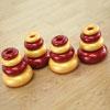 TTS Marvellous Metallics Stacking Donuts - Set of 16 - EY04695