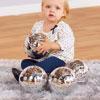 TTS Super Shiny Silver Sensory Balls - Set of 4 - EY06325