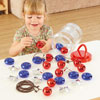 TTS Giant Metallic Bead Threading and Lacing Pack - 36 Pieces - EY06730