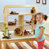 TTS Toddler Wooden Small World Dolls House - EY06815