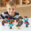 TTS Small World Superhero Figures - Set of 10 - EY05283